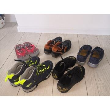 4 pary butów dla chłopca 34 okazja j.nowe