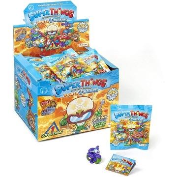 BOX FIGURKA SUPER ZINGS THINGS SERIA 7 + GRATIS !!