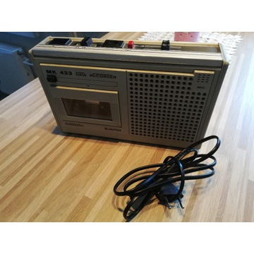 Magnetofon kasetowy Unitra MK 433