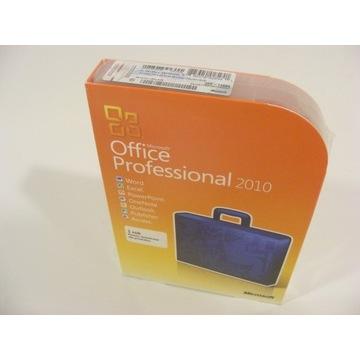 NOWY zafoliowany Office Professional 2010 PL BOX