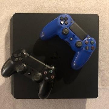 SONY PS4 SLIM1TB ZESTAW 2xPAD + FIFA 20