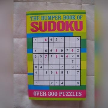 Sudoku po angielsku, nowa, kosztowała 40 zł.