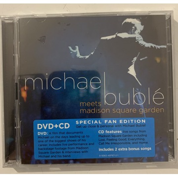 Michael Buble Meets Madison Square Garden CD/DVD