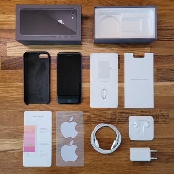Zadbany iPhone 8 64GB Szary (Model: A1905)