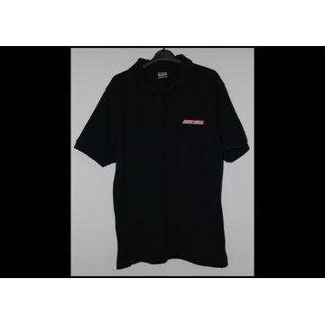 L koszulka polo męska czarna AUTO SIEGL 4 sztuki