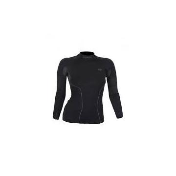 Brubeck koszulka damska Thermo czarna L