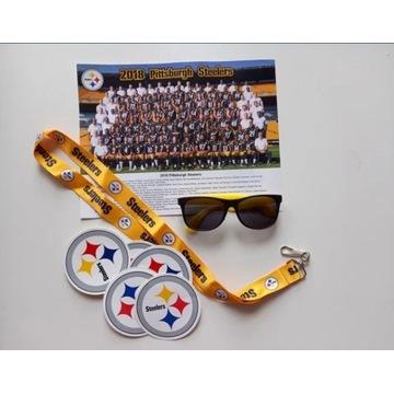 Zestaw kibica drużyny NFL Pittsburgh Steelers