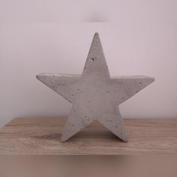 Betonowa figurka gwiazda