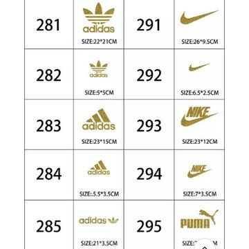 Naprasowanki Premium Złote Duże i Małe 13zł.szt.