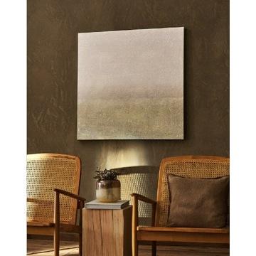 Zara Home obraz Abstrakcyjne płótno 101x101 nowe!