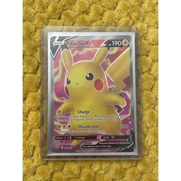Pokemon tcg Pikachu V 107/185 Full art VV