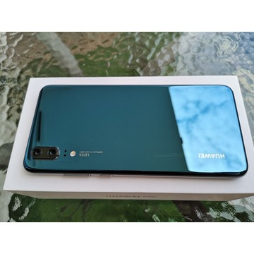 Huawei P20 zestaw stan idealny