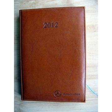 Terminarz kalendarz książkowy 2012 Mercedes-Benz
