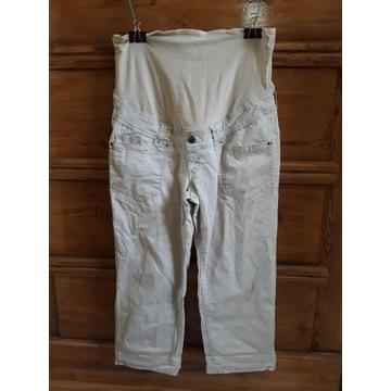 Spodnie ciążowe rybaczki 3/4 HM H&M 44