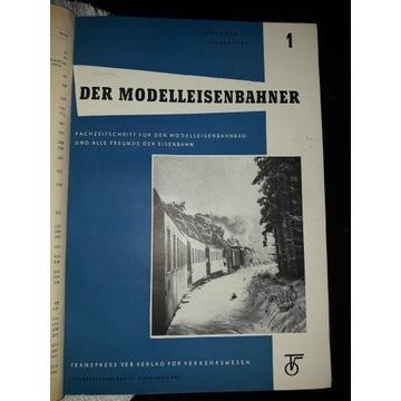 DER MODELLEISENBAHNER 1962 OPRAWINY rocznik