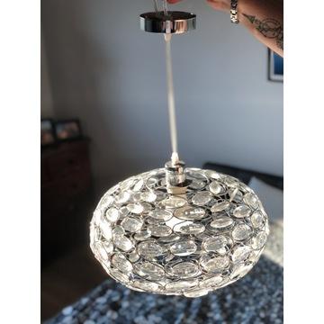 Lampa wisząca kryształowa LED E27