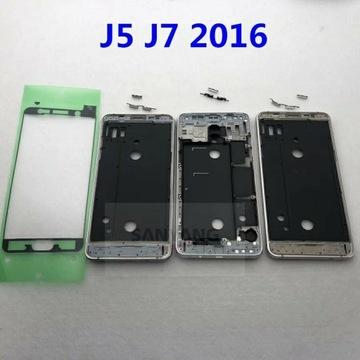 Ramką środkową+klawisze+taśma klejąca Samsung j510