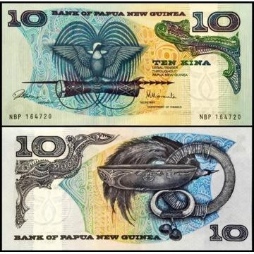 Papua Nowa Gwinea 10 Kina 1985 UNC