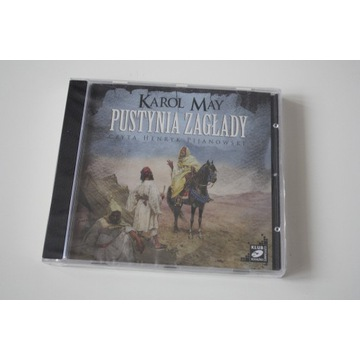 KAROL MAY - PUSTYNIA ZAGŁADY - AUDIO CD MP3