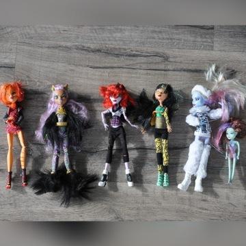Monster High zestaw 6 lalek z akcesoriami