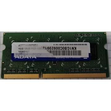 Adata DDR3 1GB 1Rx8 PC3-10600S-999