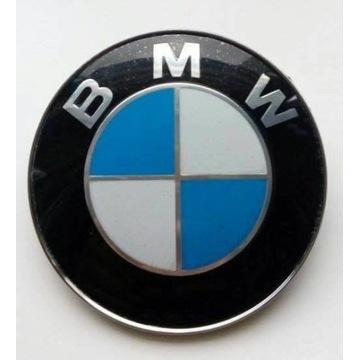Emblemat BMW znaczek logo 74mm na klapę E46 E90