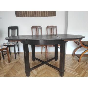 Stół scesyjny owalny rozkładany