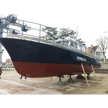 Jacht motorowy, przegląd PRS ważny do 04.2022.