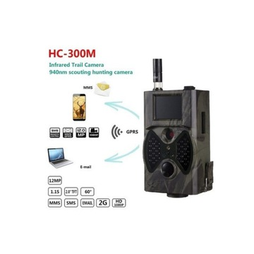 Fotopułapka,kamera leśna HC 300M,mms,sms,e-mail ,l