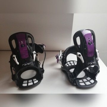 Wiązania snowboardowe RavenStarlet (black/violet)S