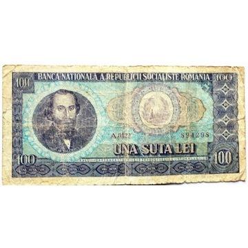 BANKNOT do kolekcji RUMUNIA 100 LEI G27