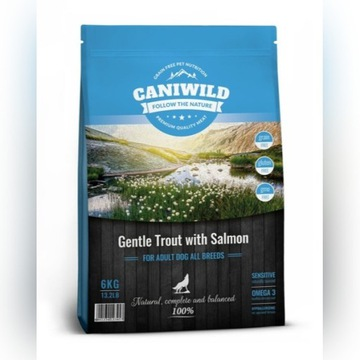 CANIWILD ADULT GENTLE TROUT and SALMON 6kg