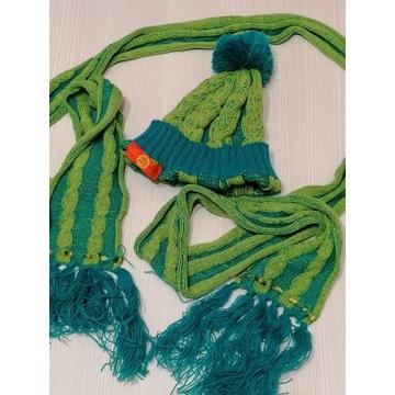 chupa chups czapka + szal jung stylowe markowe