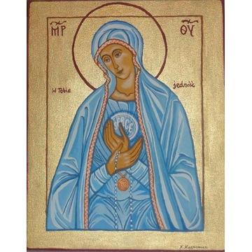Obraz olejny Matka Boska Fatimska / Maryja / Ikona