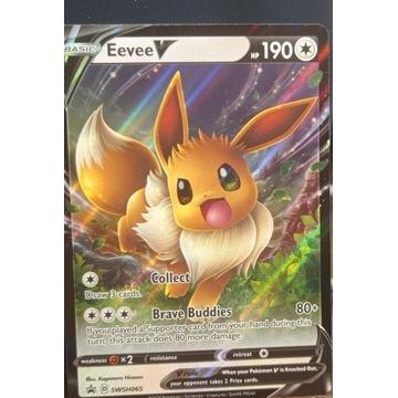 Pokemon Card - Eevee V SWSH065 - Promo