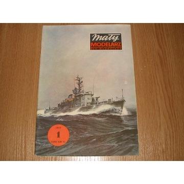 MM 1/1977 Ścigacz okrętów podwodnych