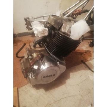 Silnik 233ccm z demontażu, gaźniki, portki, wydech