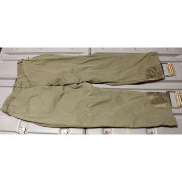 Wojskowe Spodnie Ocieplane Bundeswehr GR3