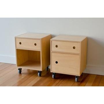 Zestaw szafek drewniane handmade komoda na wymiar