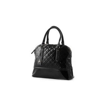 czarna torba lakierowana primarka