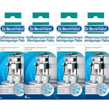 Dr Beckmann tabletki czyszczenia ekspresów 24szt