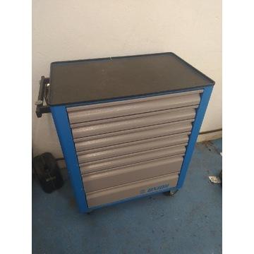 Wózek narzędziowy Unior + komplet narzędzi