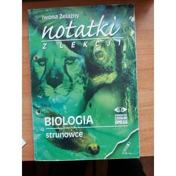 Notatki z lekcji Biologia Strunowce Żelazny Omega