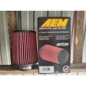 Stożkowy filtr powietrza AEM Dryflow