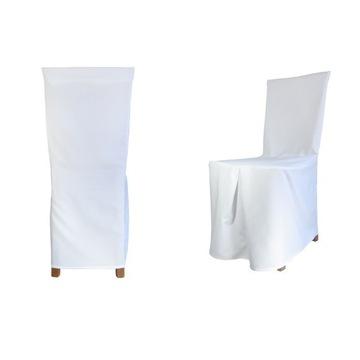 pokrowce na krzesła Glamour matowe