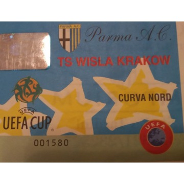 bilet PARMA  - WISŁA KRAKÓW 1998/99