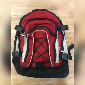 Plecak tornister torba czerwony duży