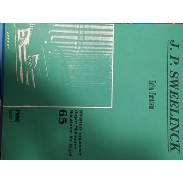 J.P. Sweelinck Echo Fantasia Miniatury Organowe
