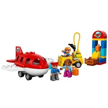 -= LEGO DUPLO 10590 - LOTNISKO SAMOLOT =-