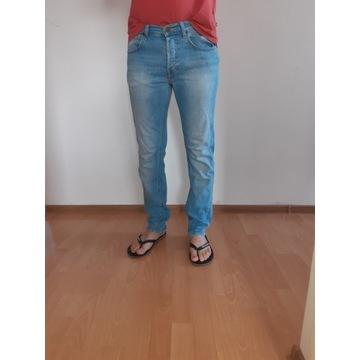 Spodnie męskie Lee W30 L32 Daren niebieskie Jeans